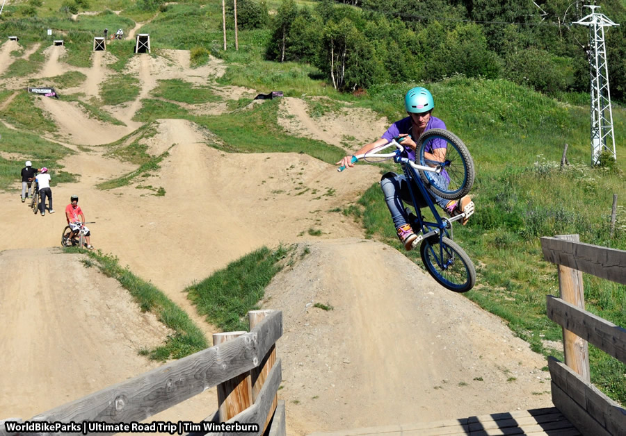 Les Deux Alpes Bike Park Media WorldBikeParks