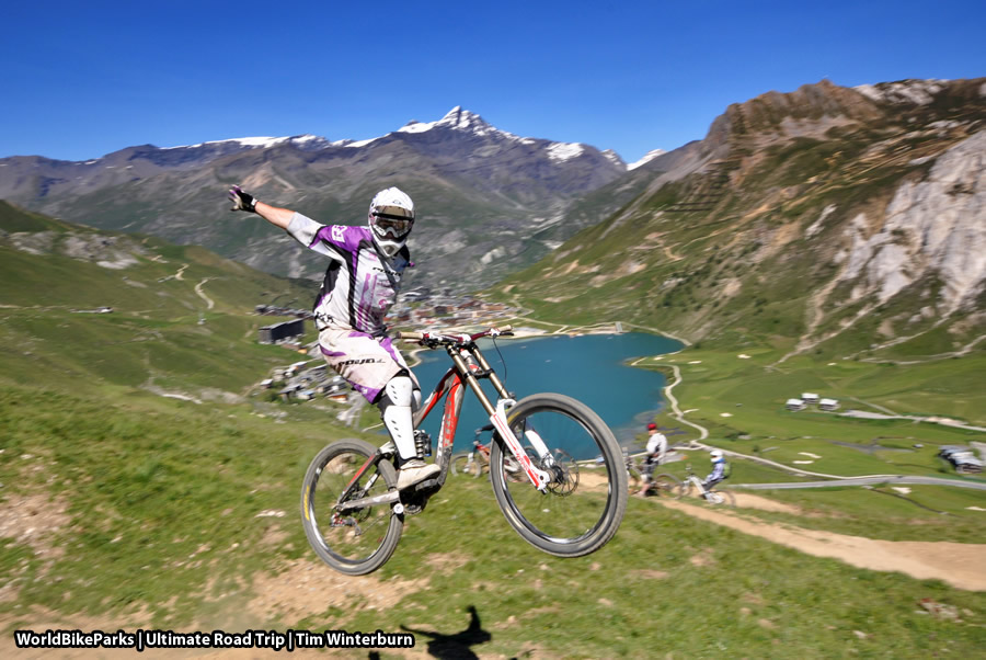 TignesVal dIsere Bike Park Media WorldBikeParks
