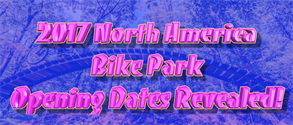 2017 North America Opening Dates