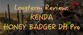 KENDA Honey Badger review