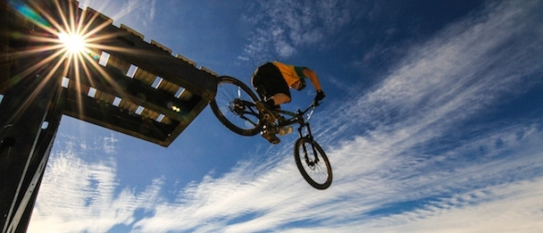 Eagle bike park article