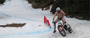 Pamporovo winter bike