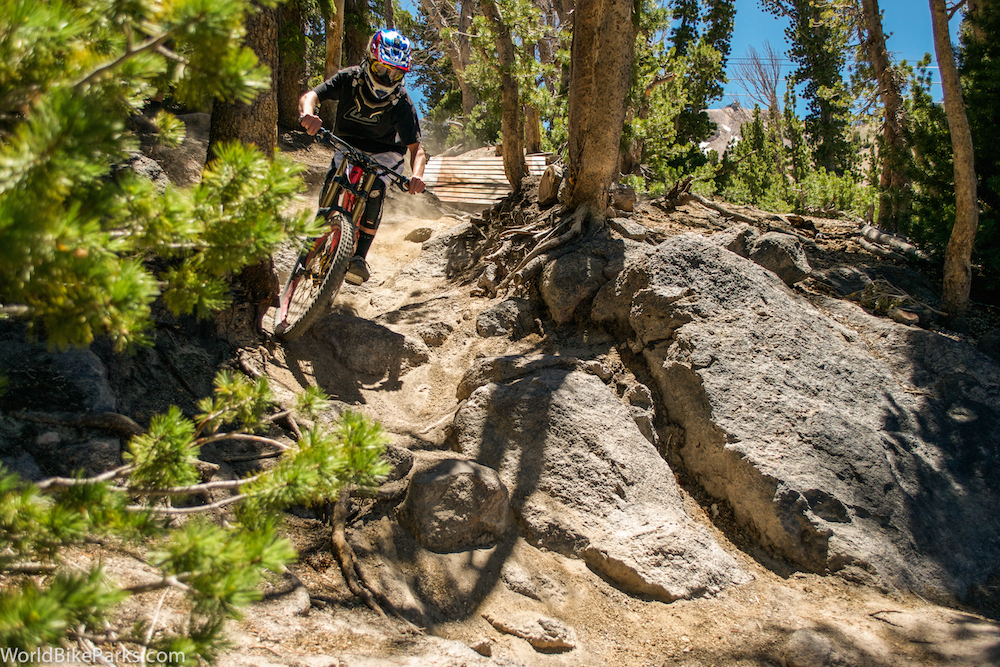 a40e39cc9d7 For those riders who just want to focus on what features they need to  conquer next, then Mammoth Bike Park lives up to its giant, hairy elephant  trademark.