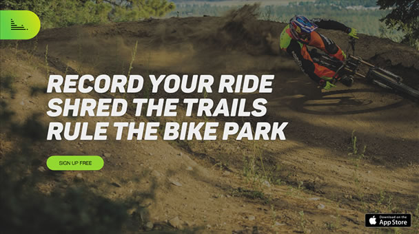 New Smartphone App to Track your Bike Park Sessions / WorldBikeParks